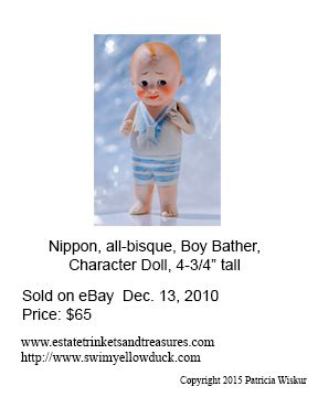 nippon bisque doll marks antiques and collectibles made in japan