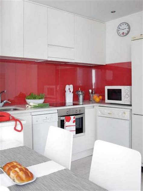 red and white kitchens ideas trucos para decorar un piso peque 241 o decoratrucosdecoratrucos