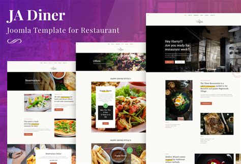 joomla templates for restaurants ecommerce joomla template and restaurant joomla template