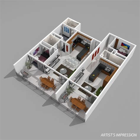 How To Design A House Floor Plan thepropagandamill 3d floorplans