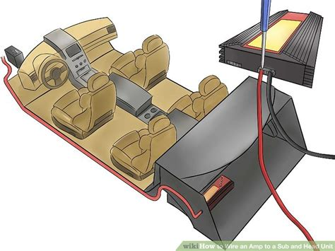how to wire an to a sub and unit 12 steps