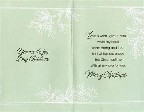 ornaments pine branch husband christmas card  freedom