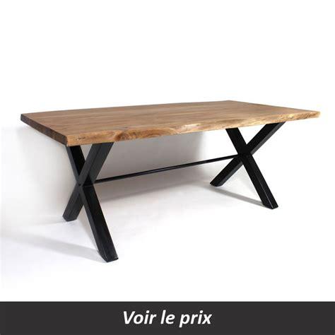 Pieds De Le En Bois by Table Plateau Bois Pied M 233 Tal Quel Mod 232 Le Choisir