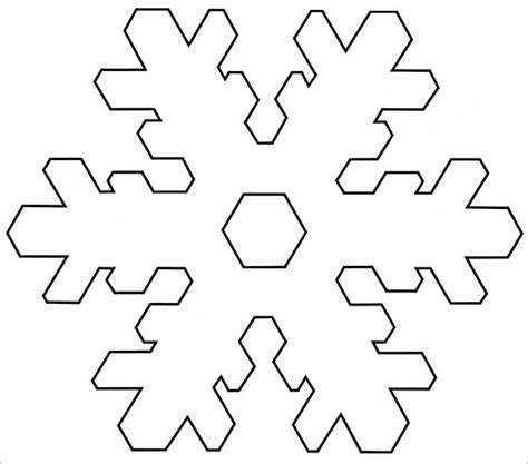 snowflake templates   word  jpeg png format