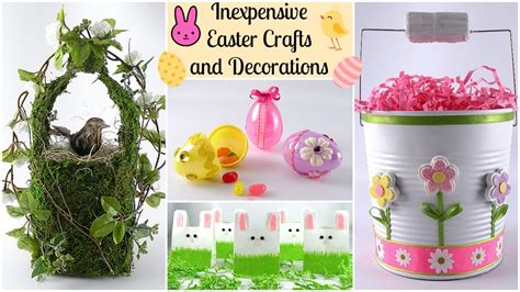 inexpensive crafts for inexpensive easter crafts and decorations tepper