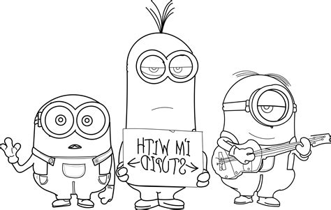 coloring pages of evil minions wolver minion coloring page minion text minions backyard