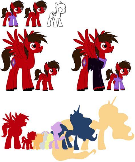 Stelan Pony Size 7 10 pony talon size comparison by driko53 on deviantart
