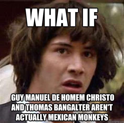 Aunt Jemima Meme - what if guy manuel de homem christo and thomas bangalter