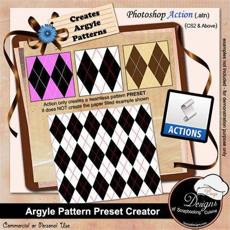 photoshop pattern presets boop designs of scrapbooking cuisine argyle pattern