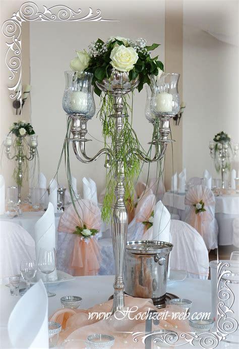 Dekoartikel Hochzeit by Tischdeko Mit Kerzenleuchter Kerzenst 228 Nder