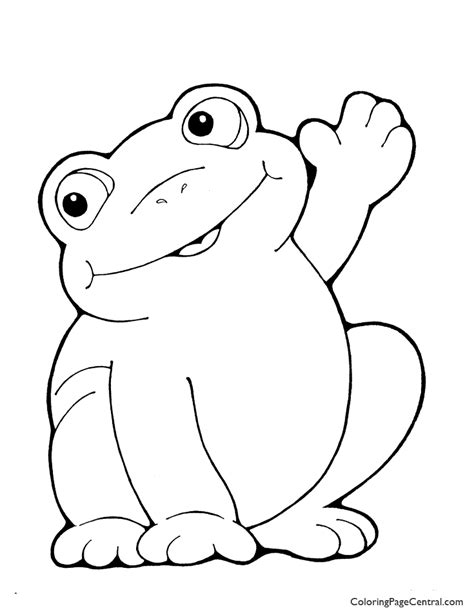 easter frog coloring page frog 01 coloring page coloring page central