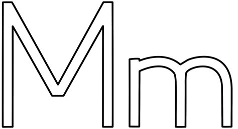 letter m coloring page geography letter m coloring pages