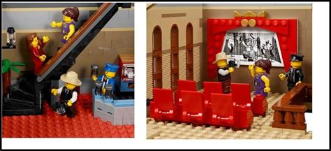 Windows With Curtains by Lego 10232 The First Details Of The Palace Cinema I