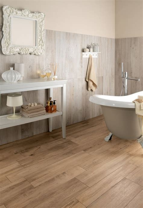 Wood Look Tile Bathroom Wood Look Tile 17 Distressed Rustic Modern Ideas