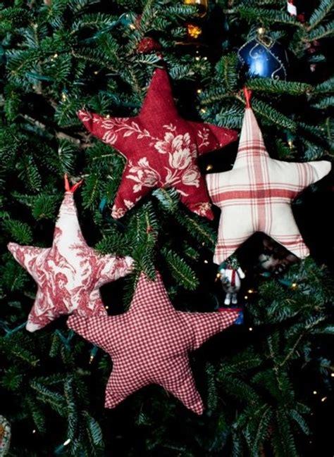 budgeting homemade christmas ornaments fabric stars
