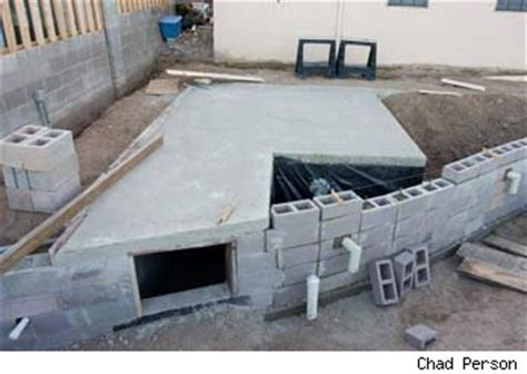 Backyard Bunker Plans by Artist Builds Backyard Survival Shelter Shotgun