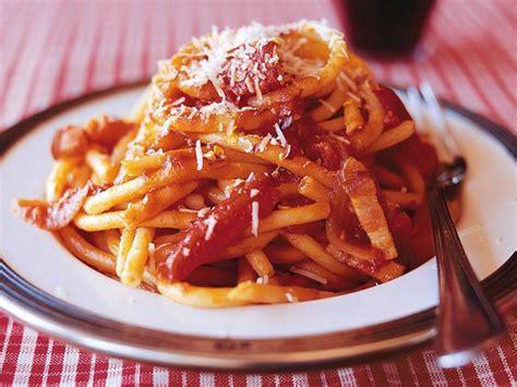 Lidia Kitchen Pasta by Bucatini All Amatriciana Di Lidia Bastianich Recipes