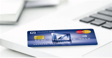 deutsche bank kreditkarte visa kosten deutsche bank girokonto erfahrungen passende