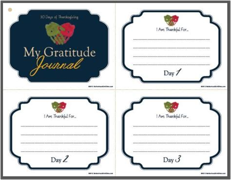 free printable gratitude journal pages 30 days of thanksgiving printable gratitude journal
