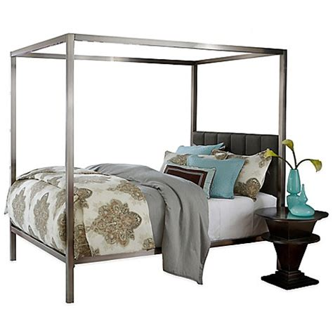 hillsdale chatham bed with rails and canopy bed bath