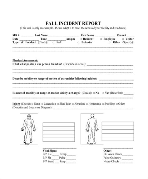 incident after report template fall incident report cus democrats at ucsb also issued