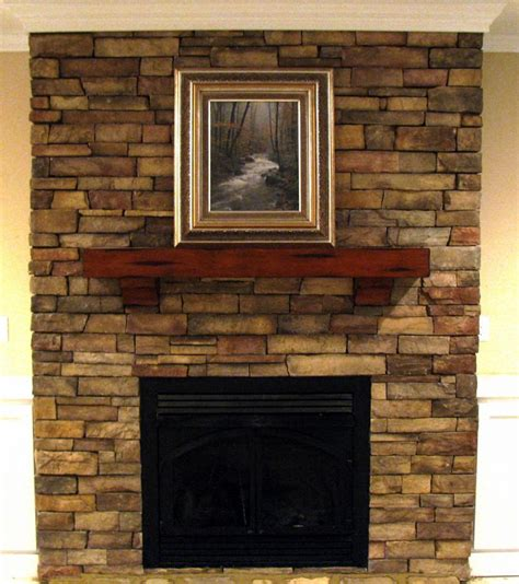 stacked fireplace