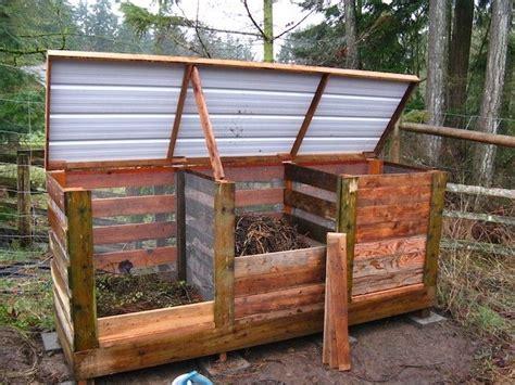 Fabrication D Un Composteur by Les 25 Meilleures Id 233 Es De La Cat 233 Gorie Bacs 224 Compost En