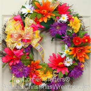 superb Butterfly Decorations For Home #3: lg_floral_splendor_wreath18.jpg