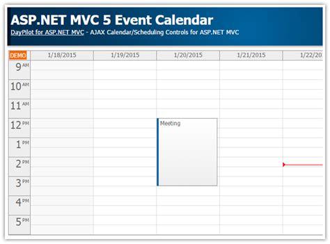 tutorial vb net mvc tutorials daypilot for asp net mvc calendar scheduler
