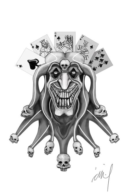 deviantart tattoo designs joker design by langkjaer on deviantart