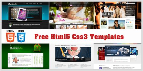 themes html css3 best free responsive html5 css3 templates and themes in