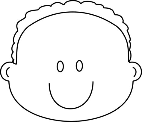 baby head coloring page happy boy face coloring page greatest coloring book