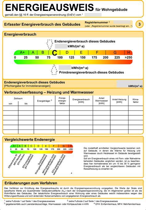 Energieausweis Energiepass Kosten Und Aussteller
