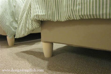bed leg covers bed frame leg covers bangdodo