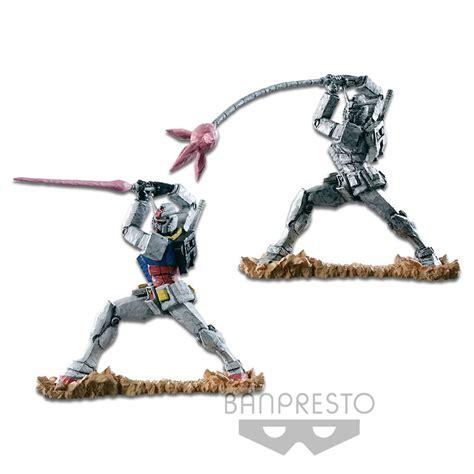 Banpresto Scmex Rx 78 2 Gundam With Javelin Beam mobile suit gundam goukai figure rx 78 2 gundam