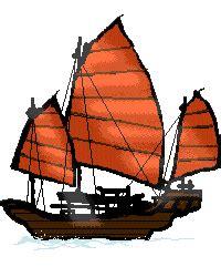 old boat emoji drawn sailing ship animated pencil and in color drawn