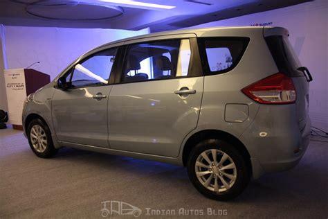 Maruti Suzuki A Zxi Maruti Suzuki Ertiga Zxi Rear Three Quarters Indian