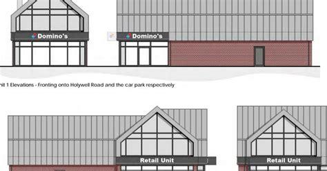 domino pizza wrexham domino s pizza and retail unit plan for flintshire site