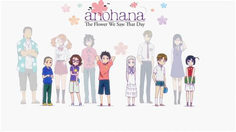 anime anohana anohana the flower we saw that day anime review generic