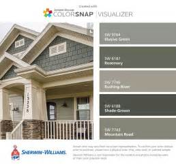 Paint Color Templates by 25 Best Ideas About Green Exterior Paints On