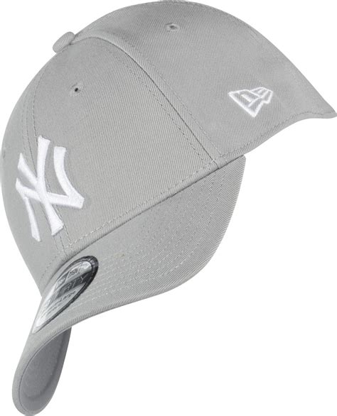 grey nyc new era 39thirty league ny yankees cap grey white