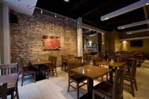 Restaurant Interior Designers Retro Restaurant Design With Elegant Floor And Wood Table