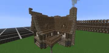 How To Build A House by Minecraft Medieval House Tutorial How To Build A House