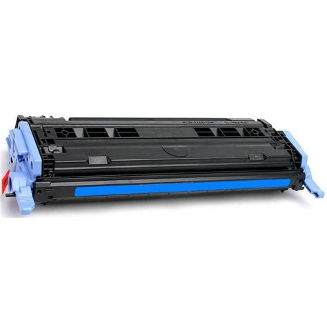 q6001a toner cartridge hp remanufactured cyan