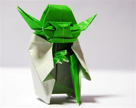 Origami Master Yoda - bookivore the strange of origami yoda