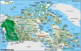 map of canada atlas map of canada canada map map canada canadian map