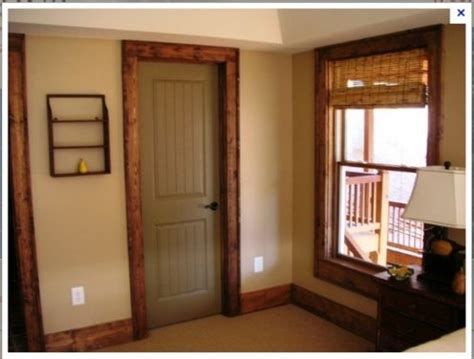 painting stained wood trim painted interior doors with stained trim