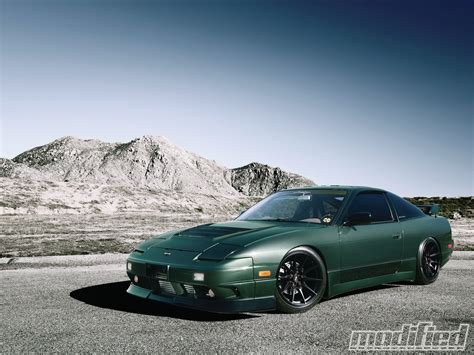 nissan 240sx modified 1993 nissan 240sx being green ain t easy modified magazine