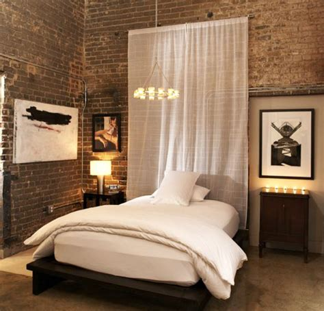 without dress in bedroom 10 ways to decorate an exposed brick wall without drilling
