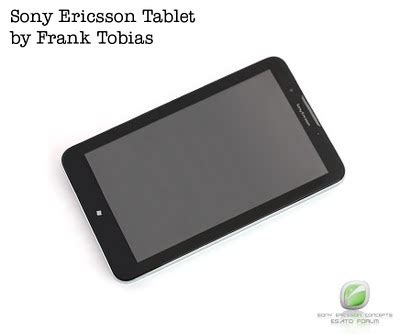 Hp Tablet Sony Ericsson sony ericsson tablet the